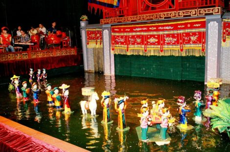 Half Day Cyclo and Water Puppet Show