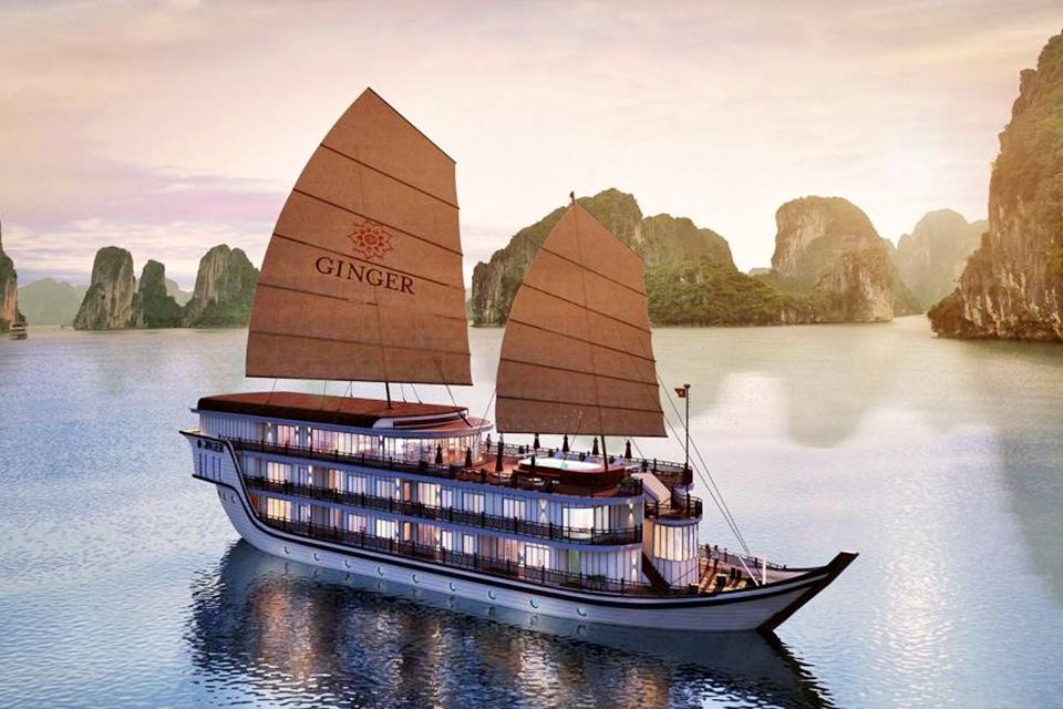 Ginger Cruise Halong Bay