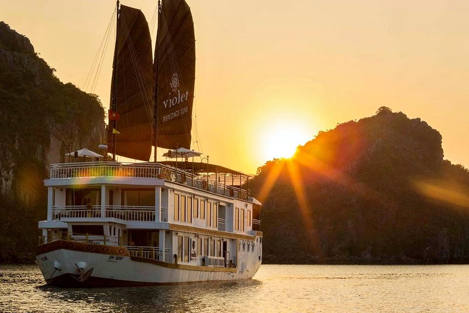 Halong Bay Violet Cruise