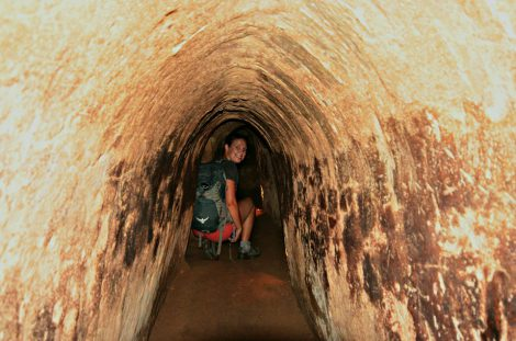 Cu Chi Tunnels (By Speed boat on the Saigon river)
