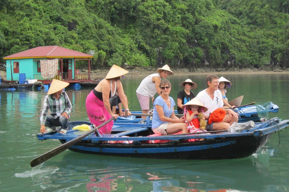Vung Vieng Floating village