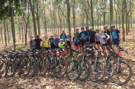 Saigon's Outskirt Cycling Trip To Cu Chi Tunnels
